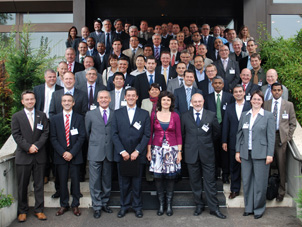 Participants from 43 countries came to the Flint Group Symposium 2010 in Stuttgart.