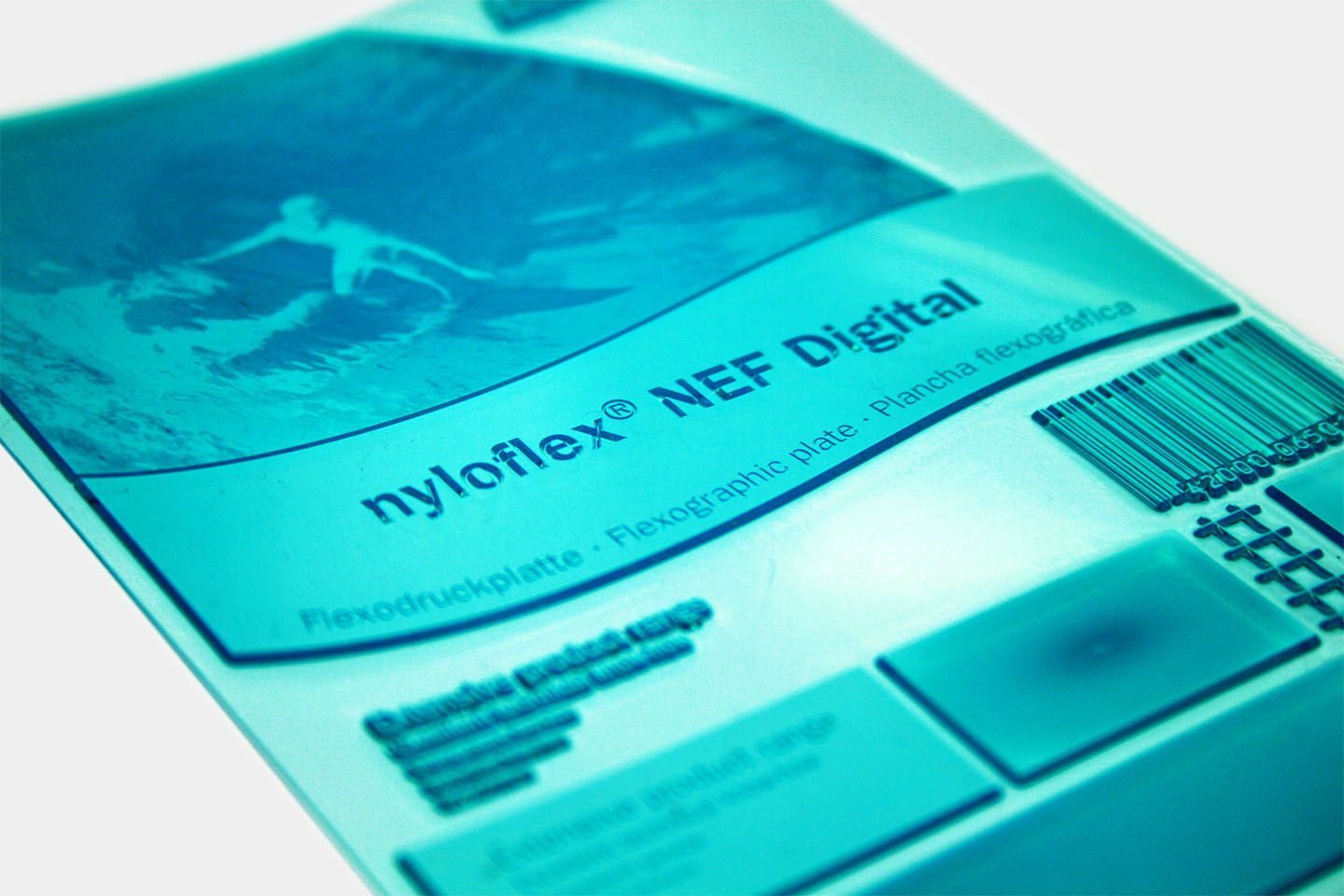Flint Group's new printing plate, nyloflex® NEF, significantly increases tonal range