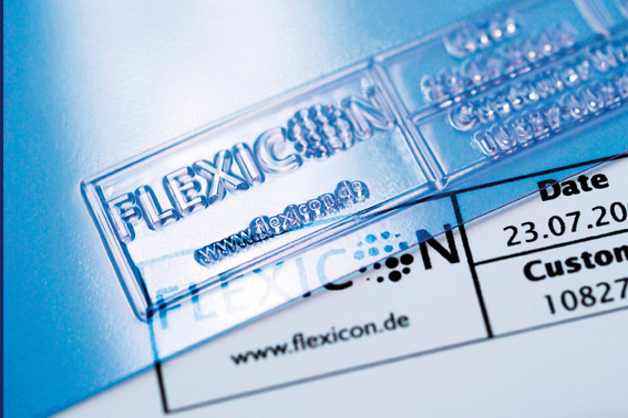 Flexicon offers the appropriate printing plate for each requirement